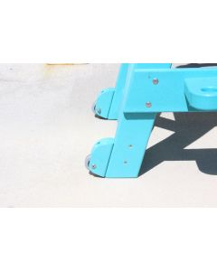 Wheels for Everondack Lifeguard Chairs Not In Use
