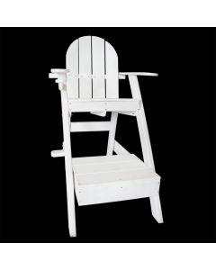Front of the Everondack® Lifeguard Chair - LG 507 White