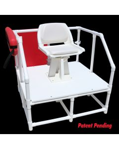 LG 810 - Everondack® Lifeguard One Step Platform Chair