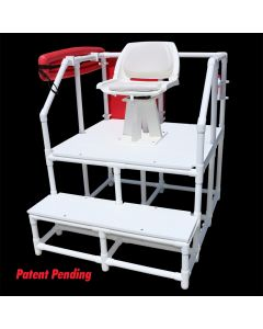 LG 820 - Everondack® Lifeguard Two Step Platform Chair