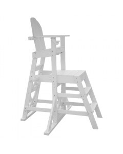 MLG 525 - Everondack® Medium Lifeguard Chair with Front Ladder in White
