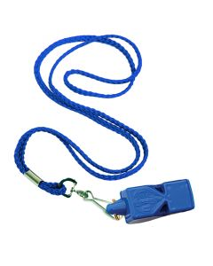 LIFE Whistle™ and Whistle Lanyard Combo in Royal Blue
