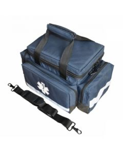 Navy Small Padded Trauma Bag and Strap