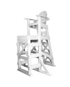 TLG 530 - Everondack® Tall Lifeguard Chair with Front Ladder in White