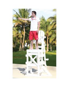 TLG 650 - Everondack® ProSeries™ Tall Lifeguard Chair with Side Step