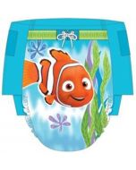 Front of Huggies® Little Swimmers Swimpant with Image of a Fish