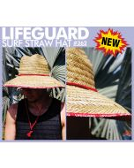 Lifeguard Surf Straw Hat
