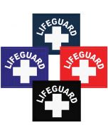 Lifeguard Patch Navy, Royal Blue, Lifeguard Red and Black