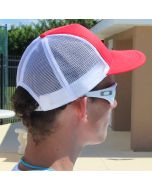Lifeguard Red Lifeguard Trucker Back