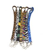Front of the Pattern Print Lanyard in Multiple Pattern