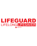 Lifeguard Lifelong Lifesaver Bumper Sticker