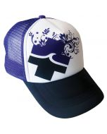Front of the Full Bloom™ Trucker
