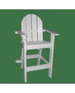Drive Thru Restaurant Chair in White
