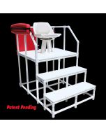 LG 830 - Everondack® Lifeguard Three Step Platform Chair
