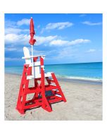 TLG 655 - Everondack® ProSeries™ Tall Lifeguard Chair with Front Ladder