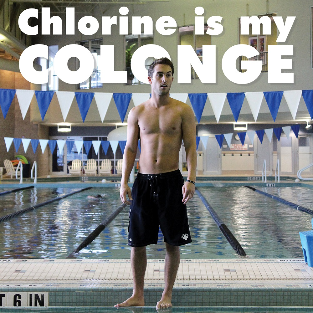 Chlorine is My Cologne!