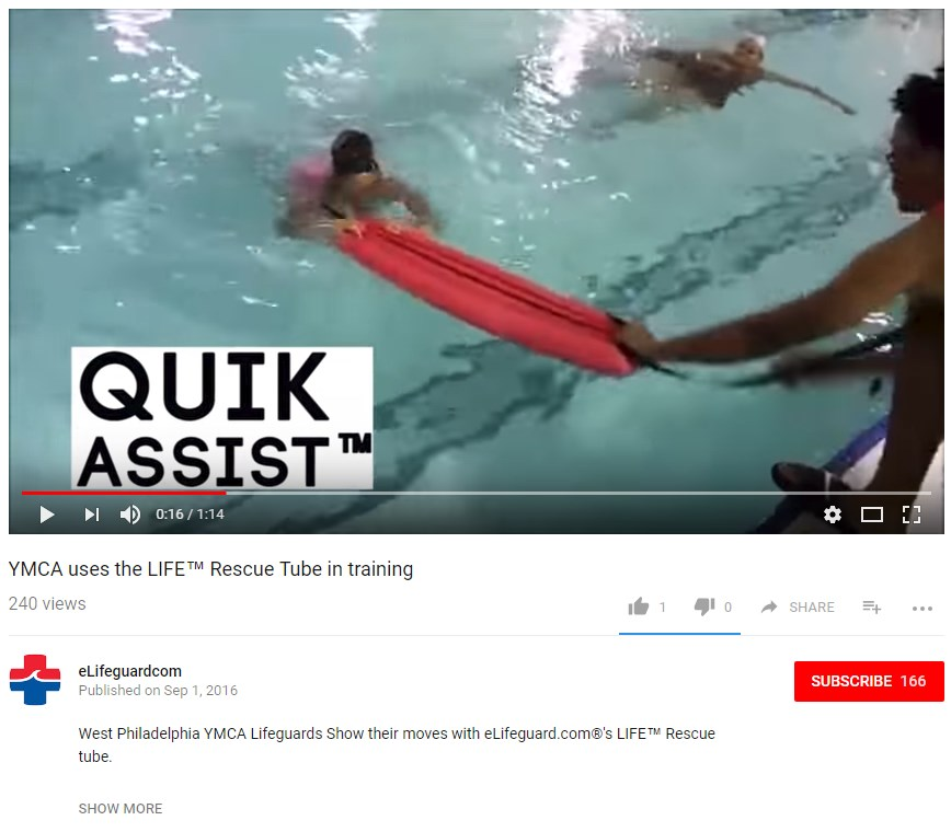 Watch YMCA Using LIFE™ Tube!