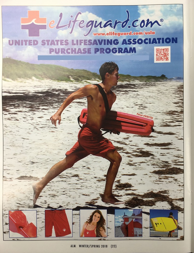 bf8ef55b602 eLifeguard.com® is proud to be a continual sponsor of the United States  Lifesaving Association (USLA) through advertising in the American Lifeguard  Magazine ...