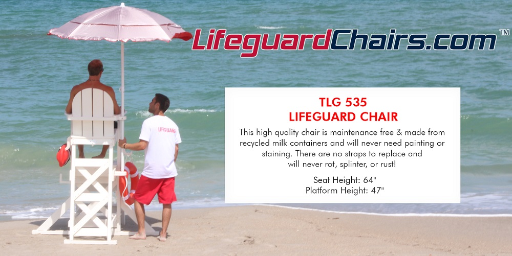 Shop Lifeguard Chairs!