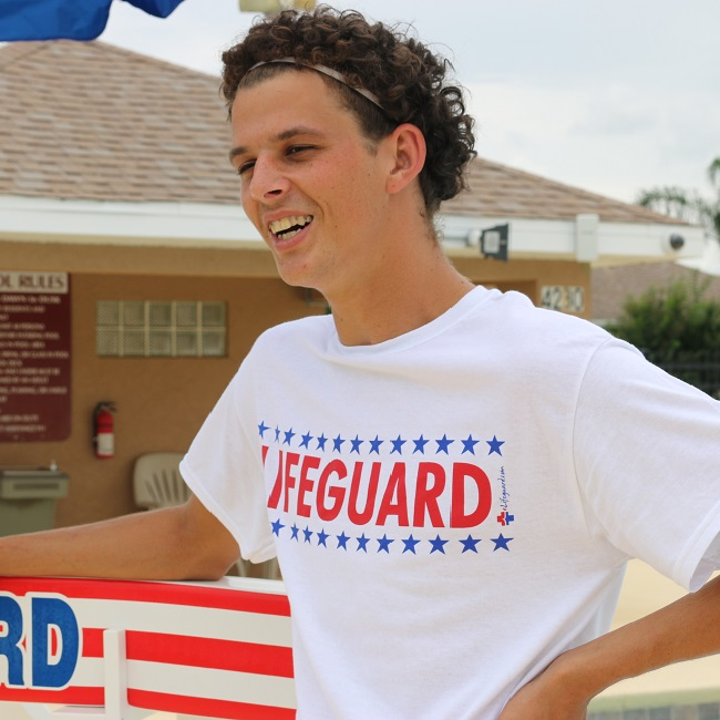 USA LIFEGUARD T-SHIRT