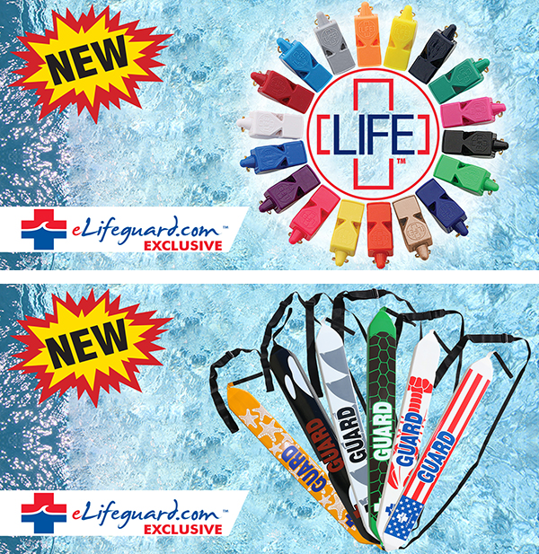 Exclusive Lifeguard Products!  Only Available from eLifeguard.com™!